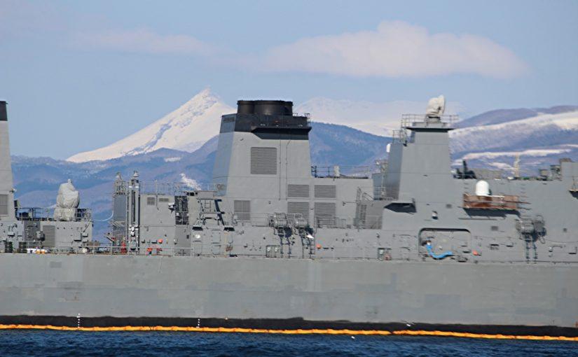 先日函館にて撮影した船